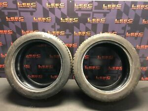 275 40 18 275 40 18 Michelin Pilot Sport A s 3 Plus Tires Used Two 2 7 32