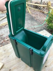Cambro Nsf 250 Lcd Green 2 5 Gal Hot cold Insulated Beverage Dispenser Usa Obo