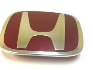 One Blue H Honda Emblems Badge Jdm Civic Si Accord Honda Integra Type R H Logo