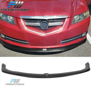 Fits 07 08 Acura Tl Type S Cs Style Front Bumper Lip Spoiler Pu Polyurethane