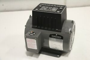 Phase a matic R 2 2 Hp Phase Converter 208 240v Rotary used
