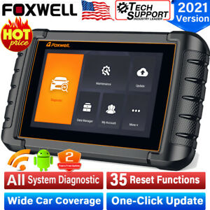 Automotive Full Systems Wifi Bluetooth Android Tablet Obd2 Diagnostic Scanner Us