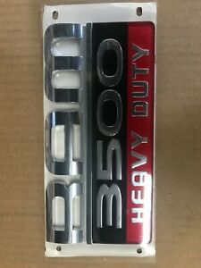 2007 2012 Dodge Ram 3500 Heavy Duty Emblem Decal Nameplate Mopar Genuine Oe New