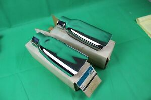 2 Nos Genuine Gm 69 72 396 454 Chevelle Exhaust Tips Extension Ls6 Ls5 3956756