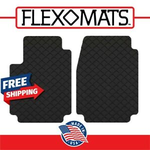 Flexomats All Weather Rubber Car Floor Mats For Buick 08 17 Enclave