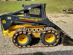 New Holland Ls 190 Skid Steer Loader Great Condition Light Use