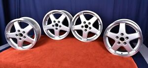 Original Ruf 8 1 2 10 X 18 Speedline Wheels For Porsche 964 965 993 Rims Nla