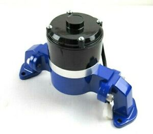 Aluminum Bbc 454 Chevy High Flow Electric Water Pump Blue Bpk 1108bu