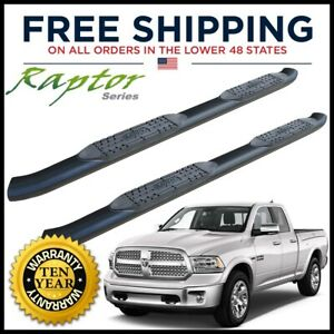 Raptor Series 5 Oe Side Steps Nerf Bars 2009 2018 Dodge Ram Crew Cab 1602 0291b