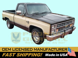 1984 1985 1986 1987 1988 1989 1990 1991 Chevrolet Ck1500 Gmc Truck Decal Stripes