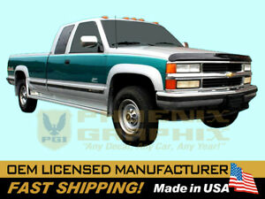 1988 1989 1990 1991 1992 1993 1994 Chevrolet Ck1500 2500 Gmc Chevy Truck Stripes