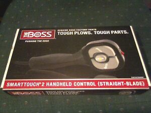 Boss Hand Held Snow Plow Control Stb09602 New Smart Touch 2 New In Box