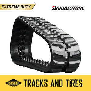 Fits Ditch Witch Jt820 9 Bridgestone Tracked Drilling Machine Rubber Track