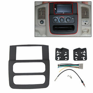 Double Din Radio Install Dash Kit For Dodge Ram 02 05 Car Stereo Mount
