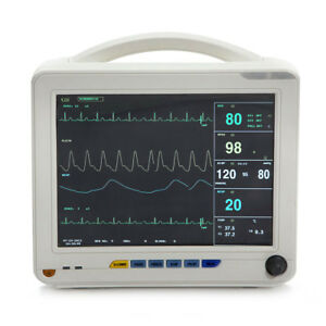 Portable Patient Monitor 6 parameter Vital Sign Cardiac Machine gift usa Stock