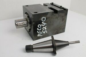 Cnc Lathe Straight Driven Live Tooling Tool Holder