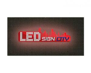 Led Sign City 12 x25 P10 Series Full Color Programmable Outdoor Led Sign For A