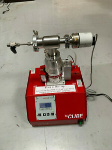 Pfeiffer Hicube 80 Eco Turbo Pumping With Diaphragm Backing Pump