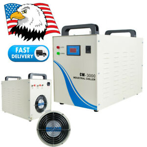 Industrial Water Chiller Cw3000 Cooling For Cnc Laser Engraver Engraving Machine