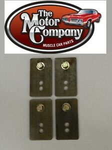 1969 1970 1971 1972 Chevelle Bucket Seat Relocation Bracket Set Made In Usa