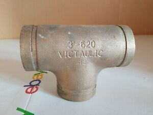 Victaulic 3 Tee 620 Grooved Copper Connection Fittings 3 620 Victaulic