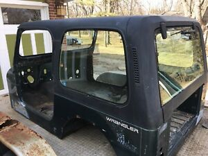 Jeep Wrangler Yj Later Version Factory Hard Top Local Pickup Only