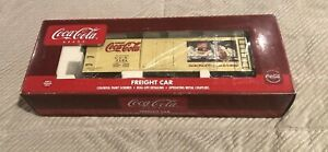 K-Line Coca-Cola Nostalgic Wood Sided Reefer K762-5106