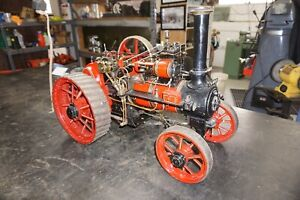 Large Live Traction Steam Engine Scratch Built 32 Long