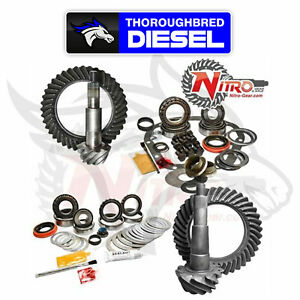 Nitro Gear And Axle Gear Package Kit 2002 2010 Ford F250 350 4 88 Ratio