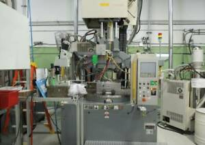2005 Nissei 88 ton Vertical Rotary All electric Plastic Injection Molding Machin