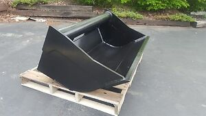 New 48 Wain Roy Style Ditch Cleaning Backhoe Bucket To Fit 1 4 Yd Coupler