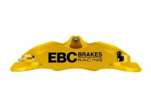 Ebc Racing For 92 00 Bmw M3 e36 Front Left Apollo 4 Yellow Caliper Ebcbc4104