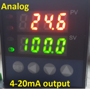 Digital Pid Temperature Controller 4 20ma Analog Analogue Output c f Kiln Oven