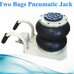 Powerful 2 5 Ton Lifts Double Bag 2 5t Pneumatic Jack Car Truck Compressed Air