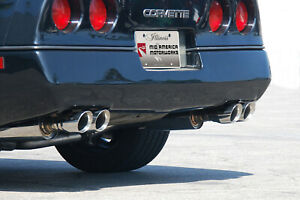 1992 1996 Corvette C4 Quad Thunder Exhaust W quad 3 5 Tips 647674