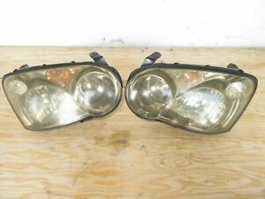 2004 2005 Subaru Wrx Sti Blobeye Headlights Right Left Oem Jdm Subaru Lights