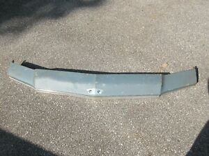 1973 1974 Chevy Impala Caprice Header Panel Hood Front Nose Piece Oem