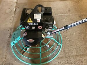 Multiquip 36 Power Trowel J36h90h High Speed With 9hp Honda And Quick Pitch
