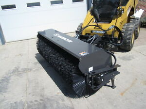 Sweepster 84 Skid Steer Loader Hydraulic Angle Broom 12 25 Gpm Ships Free