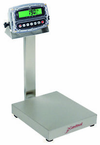 Cardinal Eb 150 190 Stainless Steel Washdown Bench Scale 150lb X 0 05lb Ntep