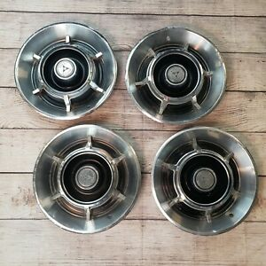 Nice Mopar Dodge Division Charger Coronet 15 Inch Hubcaps 65 66 67 1968 1969 70