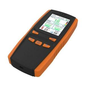 Air Quality Monitor For Pm2 5 Pm10 Particles Co2 Temperature Humidity
