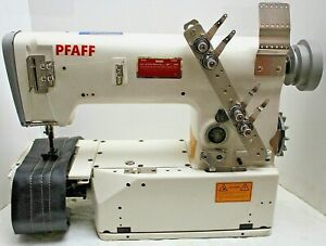 Pfaff 5642 901 Chainstitch Cylinder Bed Industrial Sewing Machine Head Only Read
