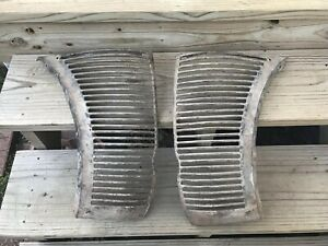 1938 Ford Deluxe Original Grille 1939 Hot Rat Rod Patina Coupe Sedan Convertible