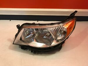 2009 2013 Subaru Forester Headlight Halogen Left Driver Side Lh Headlamp