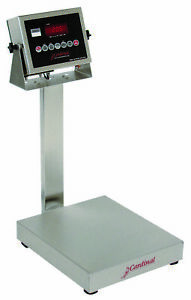 Cardinal Eb 60 205 Stainless Steel Bench Scale 60 Lb X 0 02 Lb Ntep