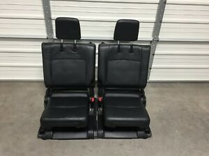 2010 2016 Toyota 4 Runner 3rd Row Seats Black Leather