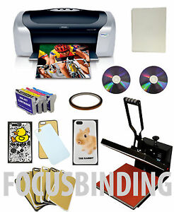 15x15 Heat Press printer sublimation Heat Transfer Phone Cases refill Ink Bundle