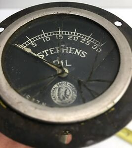 National Gauge Co Company 2 Oil Pressure 0 30 Vintage 1547 N