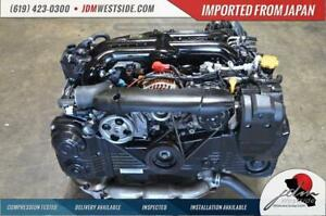 Jdm 06 12 Subaru Wrx 2 0 Replace 2 5 Ej20y Engine Ej20 Turbo 06 09 Legacy